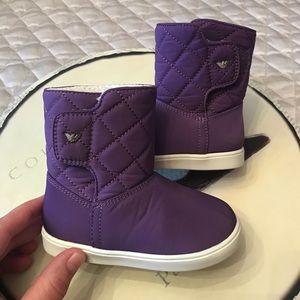 NEW Armani Junior baby boots