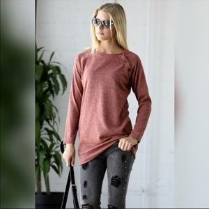 Tops - New! Shoulder button top
