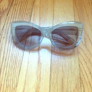 WILDFOX ombré glitter Kitten Sunglasses