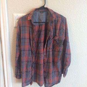 Top shop flannel size US 2