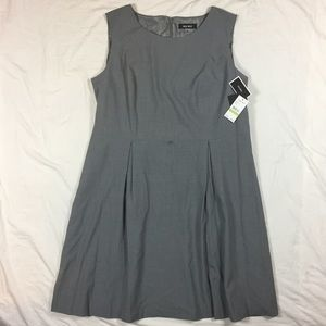 NWT Nine West gray dress 18w