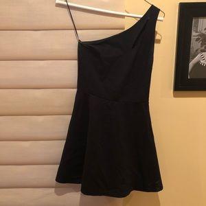 Aqua from bloomingdales black cocktail dress