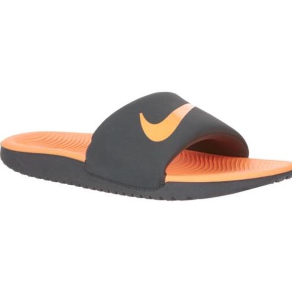 70bc437af Nike kids Kawa Slides Sandals