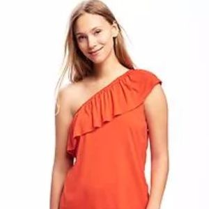 📸 NWT Red/orange top that screams fun!