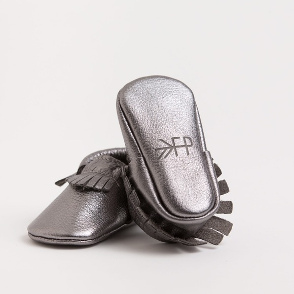 84488f9a998 Freshly Picked Other - Freshly Picked Cheeky Chrome Moccasins