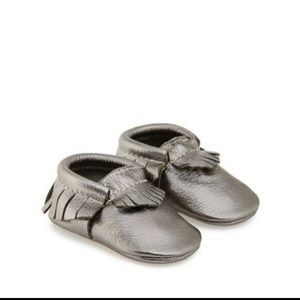 55c7af80275 Freshly Picked Shoes - Freshly Picked Cheeky Chrome Moccasins