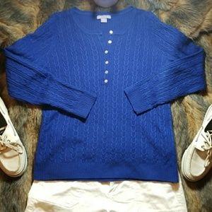 Laura Scott Sweaters - 🔥 🔥FINAL PRICE 🔥🔥Vintage Bright Blue Sweater