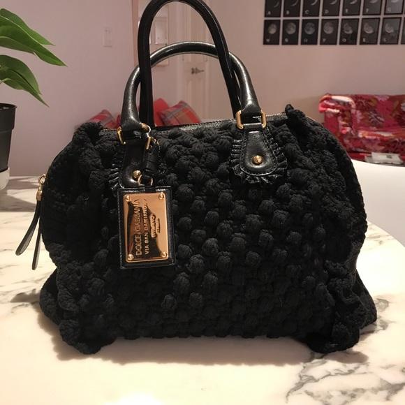 Dolce   Gabbana Bags   Dolce Gabbana Crochet Woven Handbag   Poshmark a461427db1