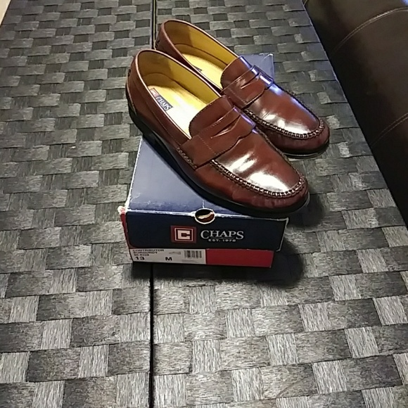 e050800a38a Chaps Other - Chaps burgundy contributor penny loafers