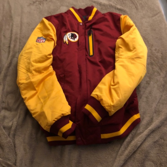 best website 45dee 56467 Reversible Redskins winter jacket