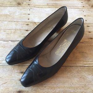 Ferragamo Leather Heel