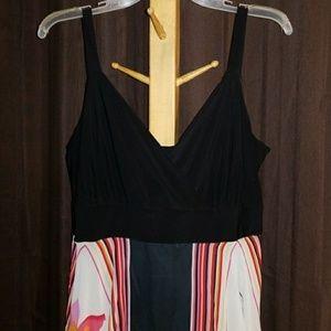 Bright sharkbite dress