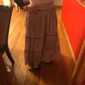 Mango maxi skirt