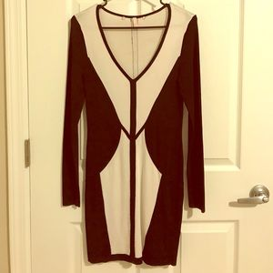 VS long sleeve dress
