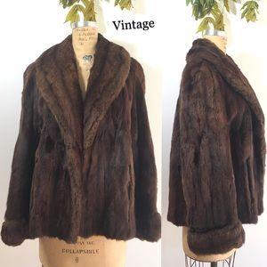 Vintage Fur Jacket, mink?