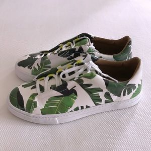 Zara Palm Leaf Sneakers