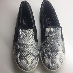Top shop slide on sneakers
