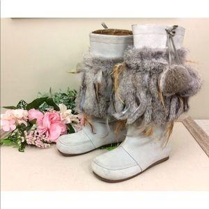 Miz mooz fur boots