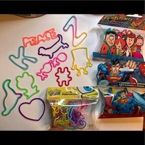Throwback Silly Bands bracelet/rings