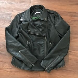 Urban Outfitters Small Black Faux Leather Jacket