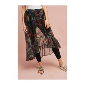 Anthropology skirted pants