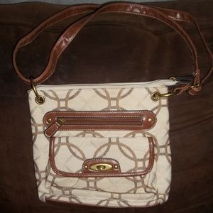 Handbags - Merona Tan and brown purse