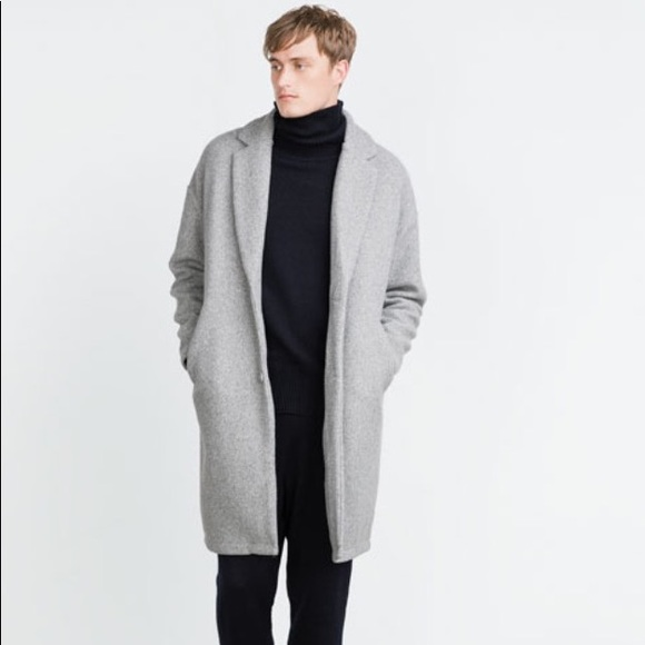 483fda3c Zara Man Lightweight Coat: Light Gray. M_5a0a3299522b458c460047cc