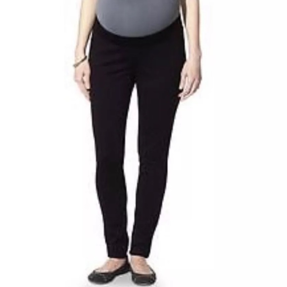 0948426b2f3b1 Liz Lange for Target Pants - Liz Lange Maternity Black Ponte Legging Pants
