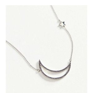 Bnwt urban outfitters crescent moon necklace