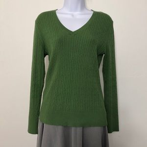 Eddie Bauer Green Sweater