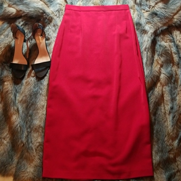 Jessica Howard Dresses & Skirts - 🔥FINAL PRICE Fire Engine Red Jessica Howard Skirt