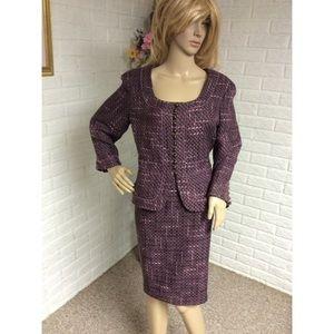 Bandolino Blazer & Pencil Skirt Suit (12/14)