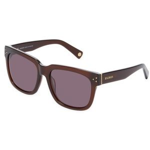 Balmain Dark Brown Square Sunglasses