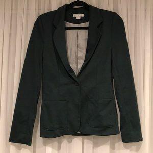 Forest green blazer
