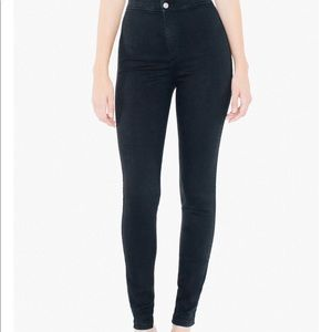 Black American Apparel Easy Jean