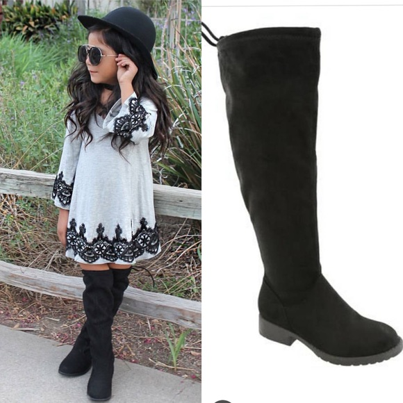43db37290d3 Kids over the knee boots