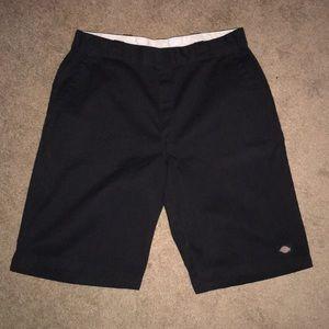 Men's dickies shorts. Black