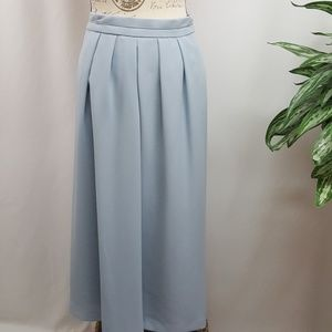 Vintage Plus Size Pleated Front A-Line Skirt 24WP