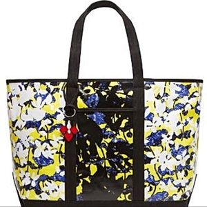 ✨SALE✨Peter Pilotto NWT Black Yellow Floral Tote
