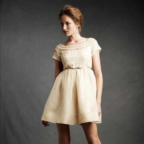 Orla Kiely Dresses & Skirts - Orla Kiely organza boatneck dress BHLDN 6