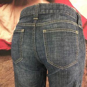 Banana Republic Retro Trouser Flare Jeans 6 29x32