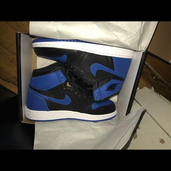 Nwt Air Jordan Royal Blue S Authentic