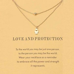 Jewelry - Love and Protection Layered Necklace