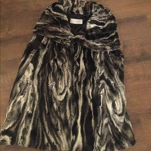 Tahari Soft Soft Faux Fur Vest