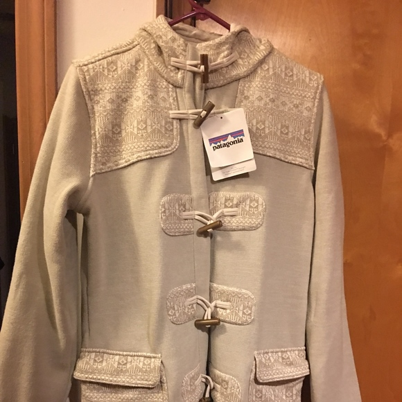 dcc61b3f502 BNWT Patagonia Better Sweater Icelandic Coat