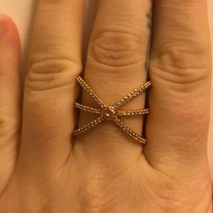 Henri Bendel Rose Gold Size 9 Ring