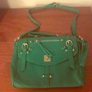 Green and Gold Handbag