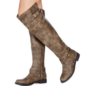 JustFab Over the Knee Boots