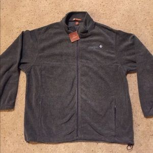 NEW Men's 2XL fleece jacket. Ameriprise logo.