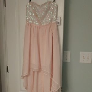 Holiday sparkle sequin dress pink forever 21 small